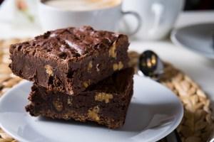 Brownie de abóbora e chocolate da chef Ana Paula Novaes