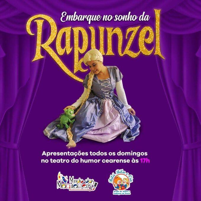 Tv Catia Fonseca Veja a programação da agenda cultural - Nordeste - Fortaleza - Rapunzel