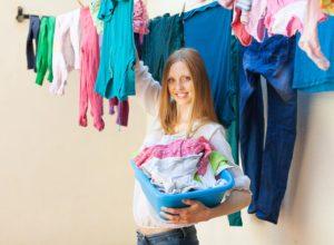 Sal diluído no enxágue das roupas de cor por Maria Eugenia Cerqueira
