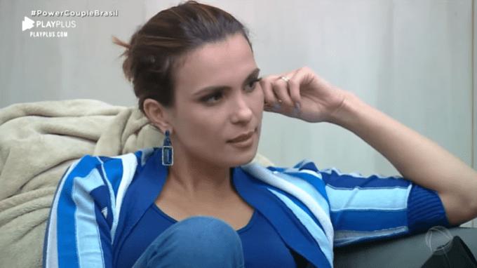 """Após desentendimento, Kamilla desabafa sobre Paula no Power Couple Brasil: """"Eu não fiz nada para essa mulher"""""""