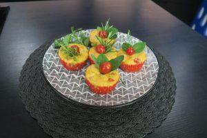 Muffin de tomate cereja por Ana Paula Novaes