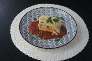 Rocambole de arroz com frango por Aritana Maroni