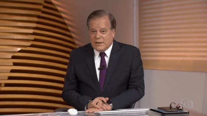 Chico Pinheiro comemora aniversário na Globo e ganha grande presente da emissora