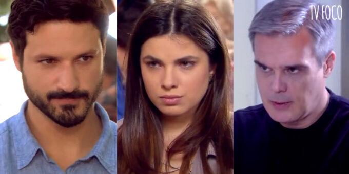 As Aventuras de Poliana: Marcelo tem surto e crises de ciúme de Pendleton e Luísa