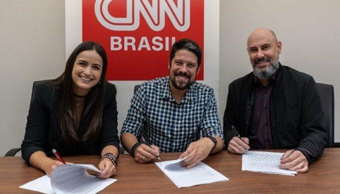 Mari Palma e Phelipe Siani são contratados pela CNN após demissão da Globo