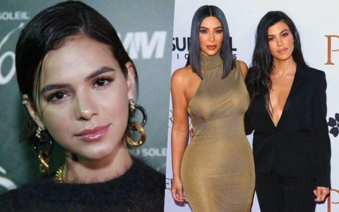 Bruna Marquezine passa a perna em Kardashian e é flagrada dentro do carro com ex de socialite