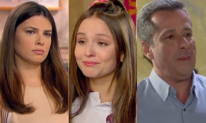 As Aventuras de Poliana: Afonso conta segredo e desmascara Luísa, Mirela fica furiosa com Luca, e Roger tenta acabar com namoro do filho