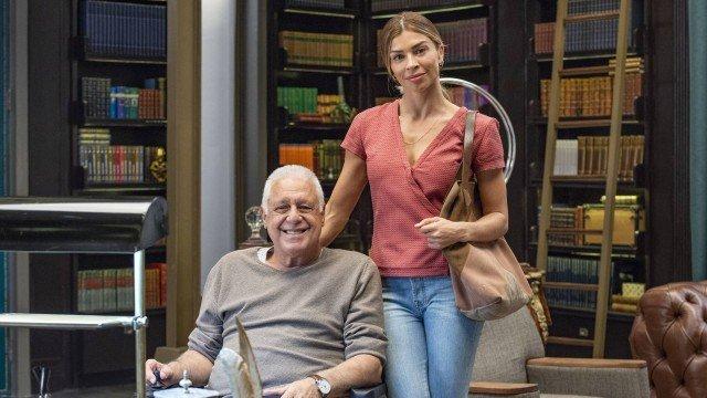 Grazi Massafera tem comportamento intrigante nos bastidores revelado por Antônio Fagundes
