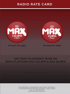 MaxRate-card