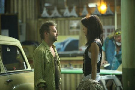 The Cleaner - Esteban Powell as Arnie Swenton and Grace Park as Akani Cuesta