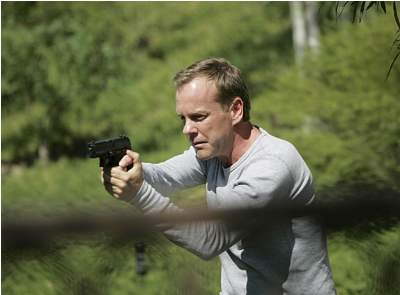 FOX's 24 - Kiefer Sutherland as Jack Bauer