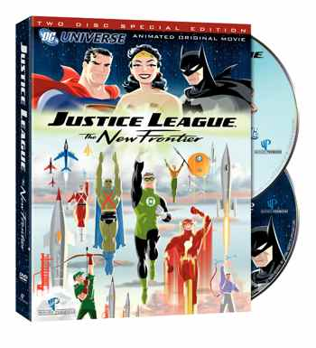Justice League: The New Frontier DVD