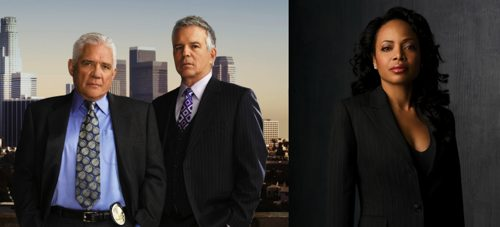 The Closer - Anthony Denison (Detective Andy Flynn), G.W. Bailey (Detective Lt. Provenza), Gina Ravera (Detective Irene Daniels)