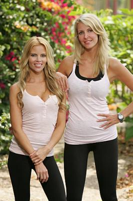 THE AMAZING RACE 12 on CBS - Teammates Shana Wall (left) and Jennifer McCall (right).