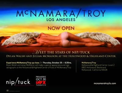 FX's Nip/Tuck - McNamara/Troy offices Invitation