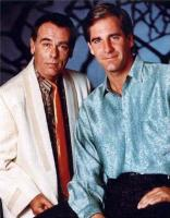 Quatum Leap - Scott Bakula (Dr. Sam Beckett) and Dean Stockwell (Admiral Al Calavicci)
