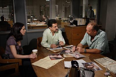 "CRIMINAL MINDS - Paget Brewster as Agents Emily Prentiss and Joe Mantegna as Agent David Rossi in ""Lucky"""