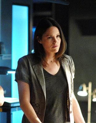 "CSI: CRIME SCENE INVESTIGATION - Jorja Fox as Sara in ""Goodbye and Good Luck"""