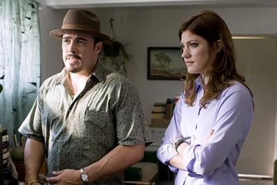 "DEXTER - David Zayas as Angel and Jennifer Carpenter as Debora in ""Morning Comes"""