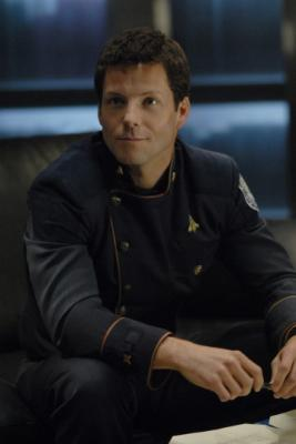 "BATTLESTAR GALACTICA - Jamie Bamber as Lee ""Apollo"" Adama in ""Razor"""