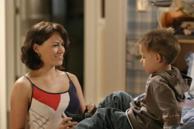 """ONE TREE HILL - Bethany Joy Galeotti as Haley and Jackson Brundage as Jamie in """"4 Years, 6 Months, 2 Days"""""""