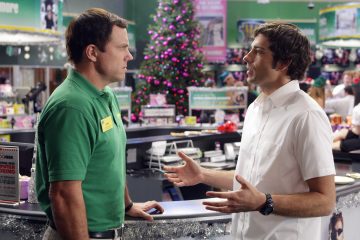 "CHUCK - Adam Baldwin as Major John Casey and Zachary Levi as Chuck Bartowski in ""Chuck vs. The Crown Vic"""