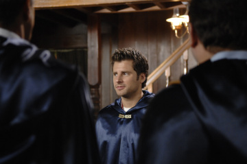 "PSYCH - James Roday as Shawn Spencer  in ""Dis-Lodged"""