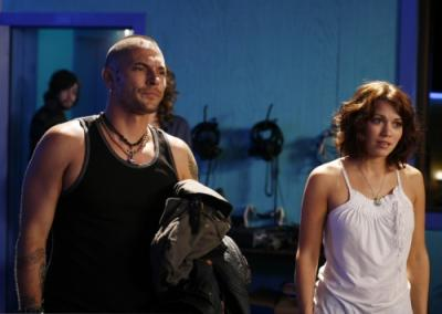 ONE TREE HILL - Kevin Federline as Jason and Bethany Joy Galeotti as Haley James Scott in