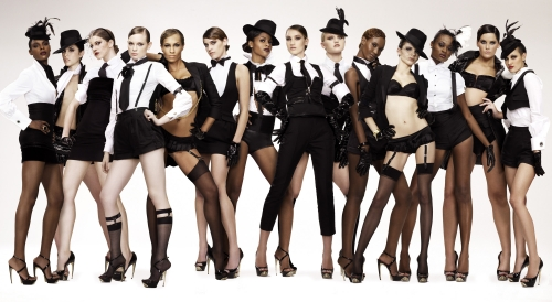 AMERICA'S NEXT TOP MODEL - Marvita, Allison, Aimee, Lauren, Dominique, Amis, Atalya, Anya, Kimberly, Fatima, Katarzyna, Stacy-Ann, Whitney and Claire from Cycle 10