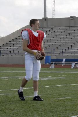 "FRIDAY NIGHT LIGHTS - Zach Gilford as Matt Saracen in ""Leave No One Behind"""