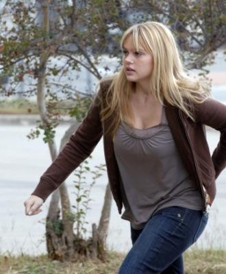 "FRIDAY NIGHT LIGHTS - Aimee Teegarden as Julie Taylor in ""Leave No One Behind"""