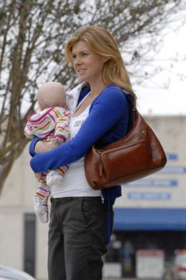 "FRIDAY NIGHT LIGHTS - Kailyn Landry as Gracie and Connie Britton as Tami Taylor in ""Leave No One Behind"""