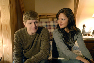 "FRIDAY NIGHT LIGHTS - Matt Szuchry as Chris Kennedy, Minka Kelly as Lyla Garrity in ""May the Best Man Win"""