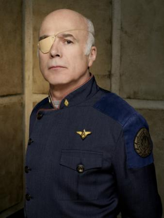 BATTLESTAR GALACTICA - Michael Hogan as Col. Saul Tigh