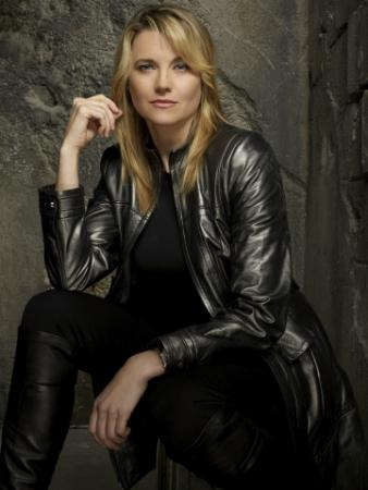 BATTLESTAR GALACTICA - Lucy Lawless as D'Anna Biers