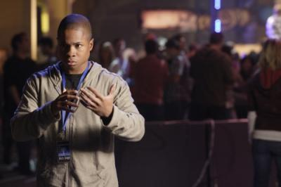 "SMALLVILLE - Sam Jones III as Pete Ross in ""Hero"""