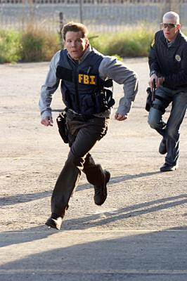 "NUMB3RS - Dylan Bruno as Colby in ""Black Swan"""