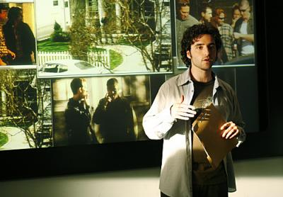 "NUMB3RS - David Krumholtz as Charlie in ""Black Swan"""