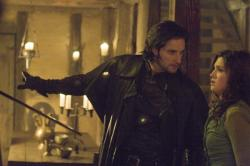 Sir Guy of Gisbourne played by Richard Armitage and Marian played by Lucy Griffiths