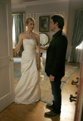 Kelly Rutherford as Lily and Matthew Settle as Rufus