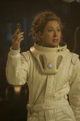 Alex Kingston as Professor River Song