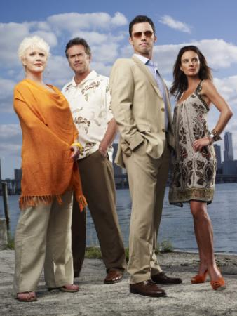 Sharon Gless as Madeline Westen, Bruce Campbell as Sam Axe, Jeffrey Donovan as Michael Westen, Gabrielle Anwar as Fiona Glenanne