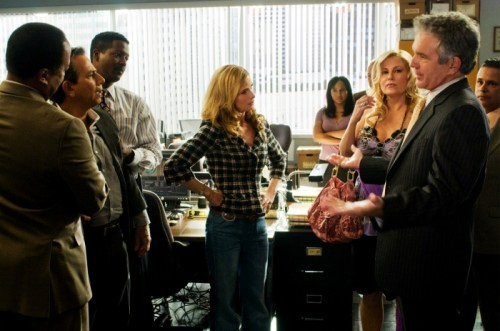 The Closer - Ari Rubin, Corey Reynolds, Kyra Sedgwick, Jennifer Coolidge, Tony Deinson, Raymond Cruz