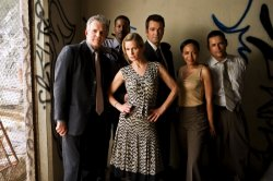 The Closer - Tony Denison, Kyra Sedgwick, Corey Reynolds, Jon Tenney, Gina Ravera, Raymond Cruz
