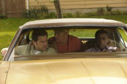 "Psych - James Roday as Sean Spencer, Corbin Bernsen as Henry Spencer, Dule Hill as Burton ""Gus\"" Guster"