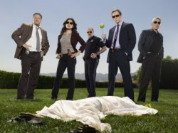 Life - Donal Logue as Captain Kevin Tidwell, Sarah Shahi as Dani Reese, Brent Sexton as Bobby Stark, Damian Lewis as Charlie Crews, Adam Arkin as Ted Earley
