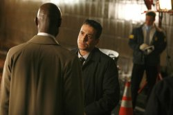 Lance Reddick and Kirk Acevedo