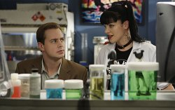 McGee (Sean Murray) and Abby (Pauley Perrette)