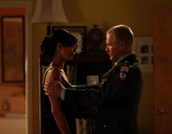 Army Wives - Denise (Catherine Bell) and Frank (Terry Serpico)