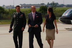 Army Wives - Claudia Joy (Kim Delaney), Michael (Brian McNamara), Paolo (Alex Fernandez)